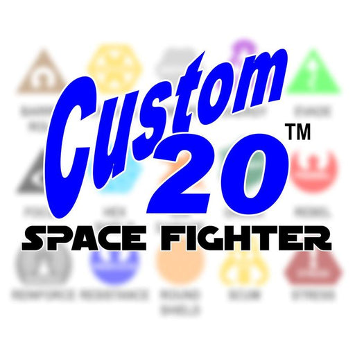 LITKO Personalized Space Fighter Custom20 - LITKO Game Accessories