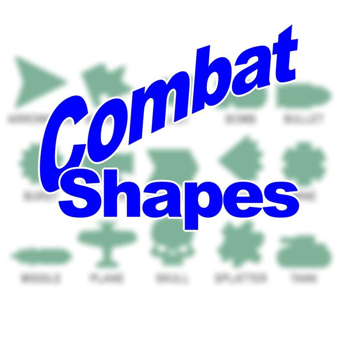 Combat Shapes - Personalized Game Tokens (10) - LITKO Game Accessories