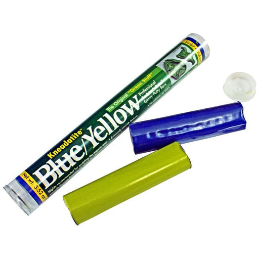 Green Stuff Bars (Kneadatite Blue / Yellow Epoxy Putty) - LITKO Game Accessories