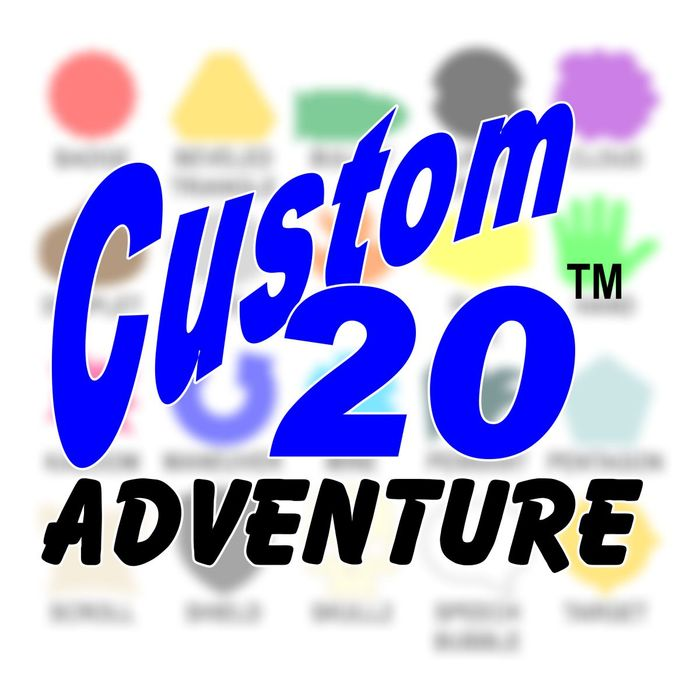 Custom20 Adventure Tokens (20) - LITKO Game Accessories