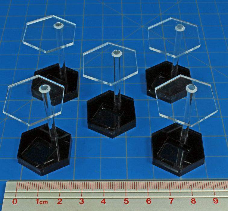 1-inch Hex Die Stand (5) - LITKO Game Accessories