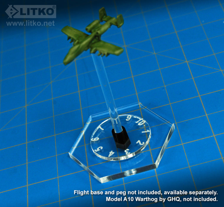 LITKO Flight Stand Dials #1-10 with Pointers (10) - LITKO Game Accessories