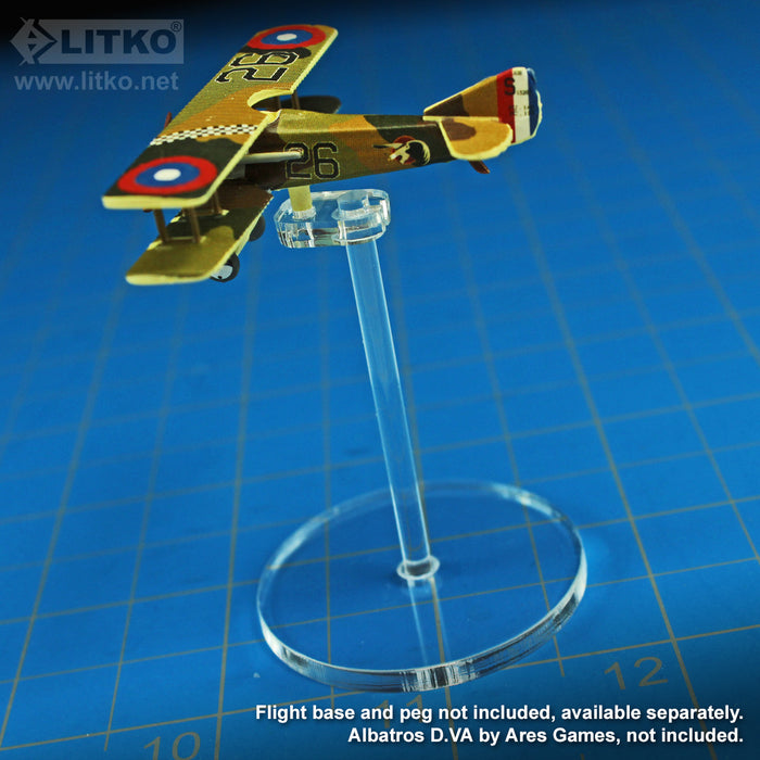 LITKO Flight Stand Peg Toppers Compatible with WoG Planes (10) - LITKO Game Accessories