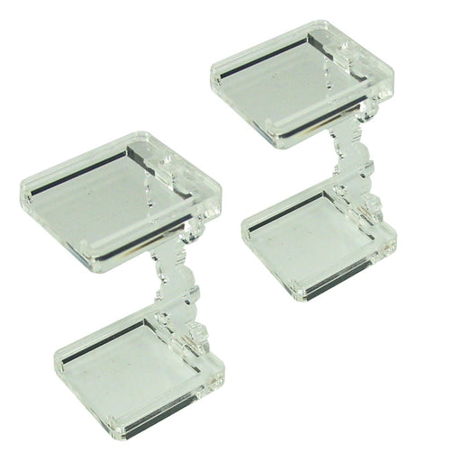 Flying Figure Stands, 25mm Square (2) - LITKO Game Accessories