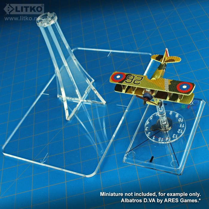 LITKO Observation Balloon Flight Stand Compatible with WoG, Clear