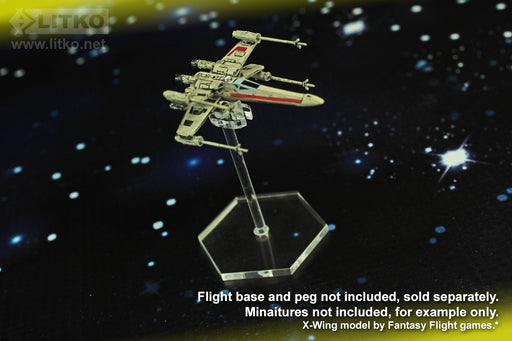 LITKO Space Fighter, Flight Stand Peg Toppers (10) - LITKO Game Accessories