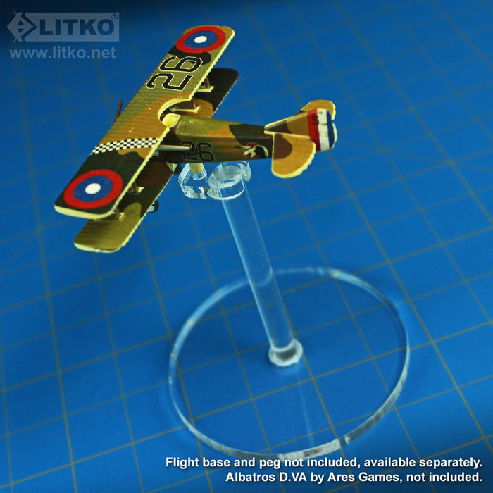 LITKO Heavy Duty Flight Stand Peg Toppers Compatible with WoG Planes (5) - LITKO Game Accessories