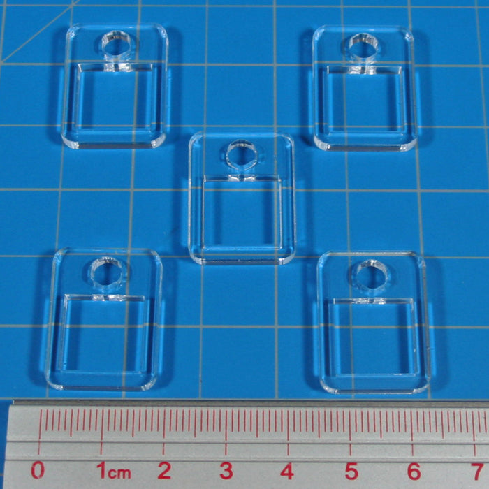 Large HD Peg 12mm Dice Trays (5) - LITKO Game Accessories
