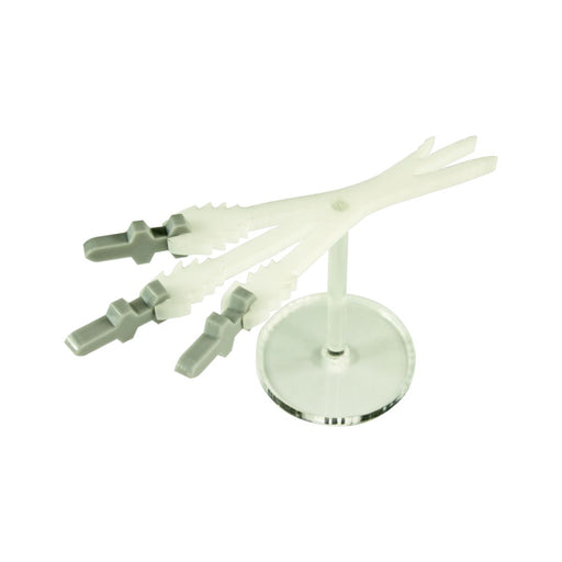 LITKO Missile Salvo Stand, Grey & Translucent White - LITKO Game Accessories
