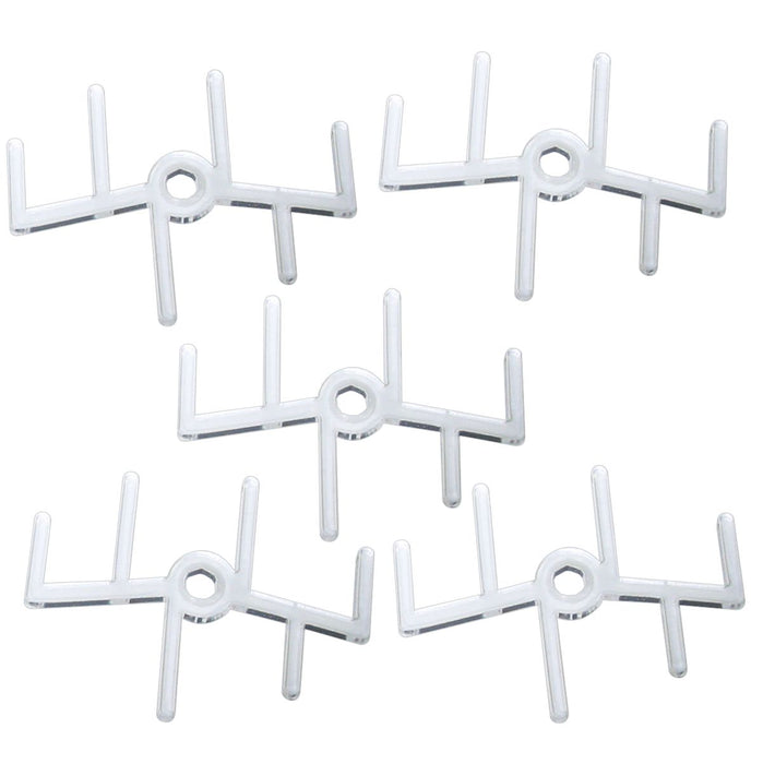 6-Prong Squadron Peg Toppers (5) - LITKO Game Accessories