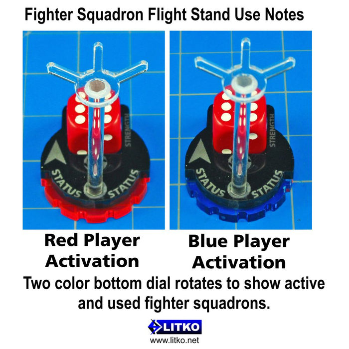 SW: Armada, Fighter Squadron Flight Stand - LITKO Game Accessories