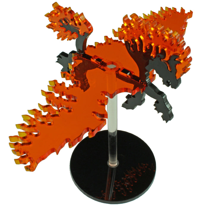 Flying Nightmare Character Mount Kit with 2-inch Circle Base - LITKO Game Accessories