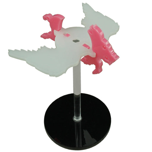 Flying Pig Character Mount Kit with 2-inch Circle Base - LITKO Game Accessories