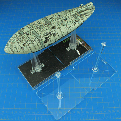LITKO Space Fighter, Huge Ship Flight Stand, 4-inch Peg - LITKO Game Accessories