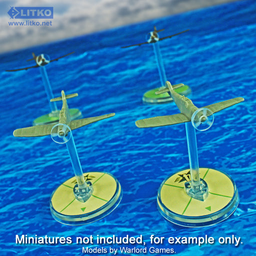 LITKO Plane Propeller Discs Compatible with BRS, 1.5mm Clear (20) - LITKO Game Accessories