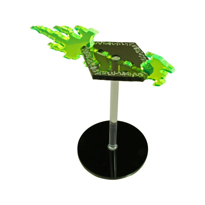 LITKO Flying Disc Character Mount with 2-inch Circle Base - LITKO Game Accessories
