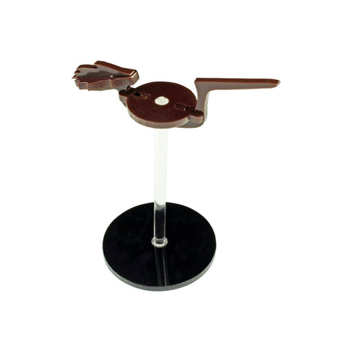 LITKO Flying Broom Character Mount with 2-inch Circle Base, Brown - LITKO Game Accessories