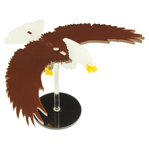 LITKO Flying Eagle Character Mount Kit with 2 inch Circle Base - LITKO Game Accessories