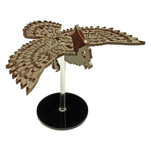 LITKO Flying Owl Character Mount Kit with 2 inch Circle Base, Brown - LITKO Game Accessories