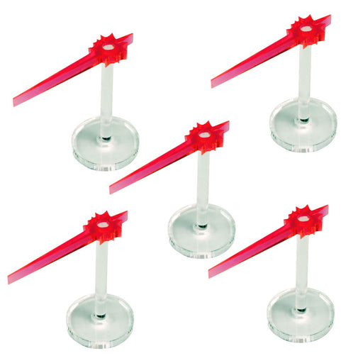 LITKO Laser Beam Stands, Fluorescent Pink (5) - LITKO Game Accessories