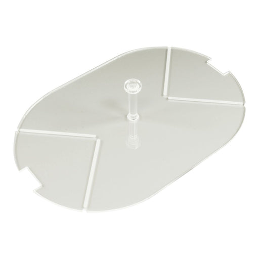 LITKO 100x150mm Notched Pill Tank HD Flight Stand Compatible with SW: Legion, 1.5mm Clear - LITKO Game Accessories