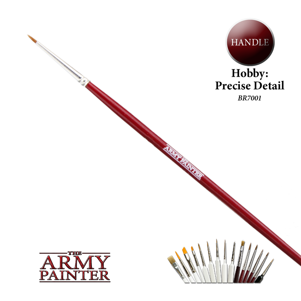 Hobby Brush: Precise Detail - LITKO Game Accessories