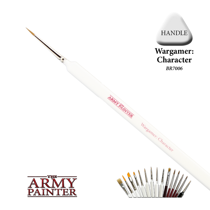 Wargamer Brush: Character - LITKO Game Accessories