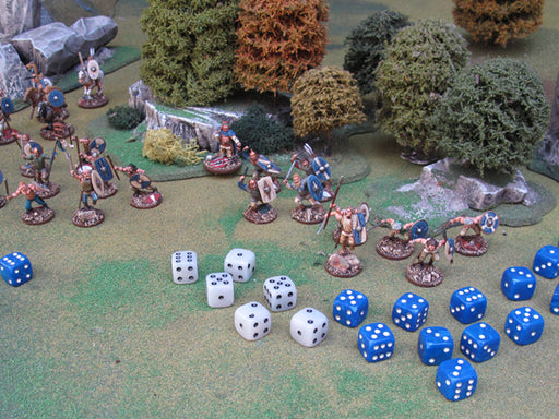 Wargamer Dice, Blue (36) - LITKO Game Accessories