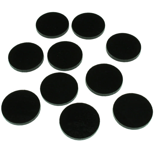 RPG Bases, 1-Inch Circular, MEDIUM Figure Size (10) - LITKO Game Accessories