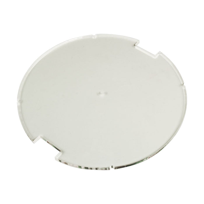 100mm Circular Notched Bases Compatible with SW: Legion, 3mm Clear - LITKO Game Accessories