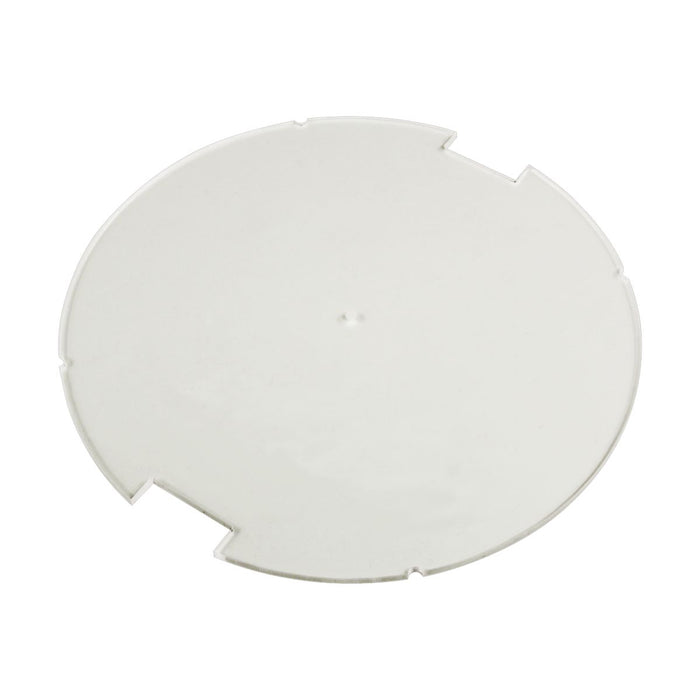 100mm Circular Notched Bases Compatible with SW: Legion, 1.5mm Clear - LITKO Game Accessories