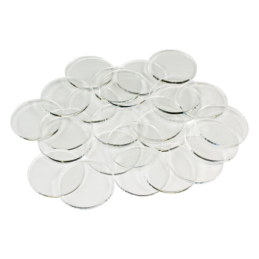 LITKO SW: Legion, 27mm Circular Bases, 1.5mm Clear (25) - LITKO Game Accessories