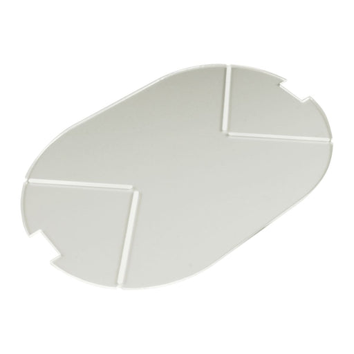 LITKO 100x150mm Notched Pill Tank Base Compatible with SW: Legion, 1.5mm Clear - LITKO Game Accessories