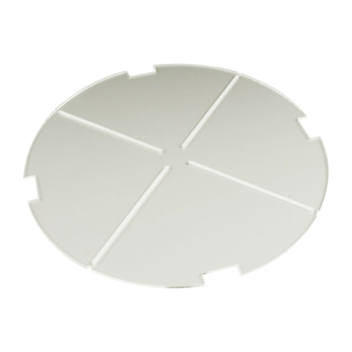 LITKO 150mm Circular Notched Tank Base Compatible with SW: Legion, 1.5mm Clear - LITKO Game Accessories