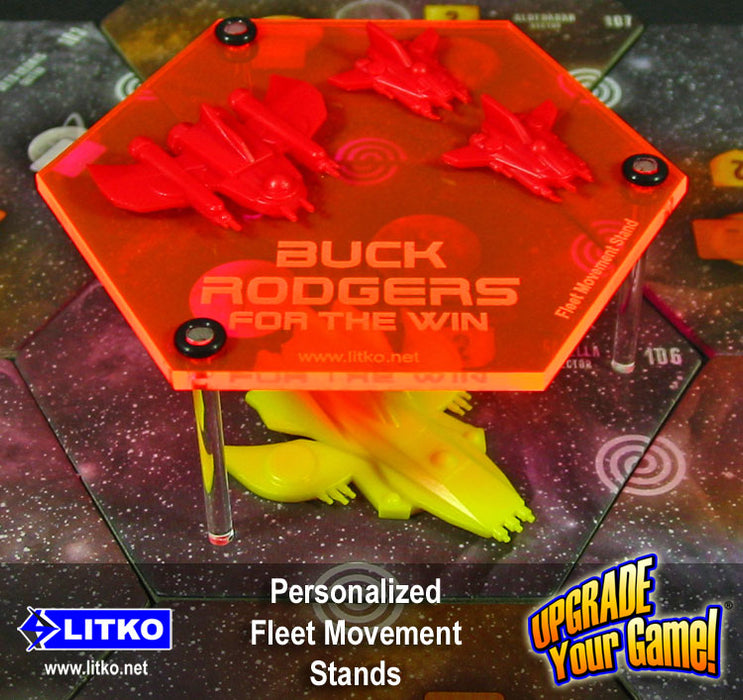 Personalized Fleet Movement Stands (3) - LITKO Game Accessories