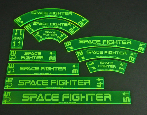 Personalized Space Fighter Deluxe Gauge Set (11) - LITKO Game Accessories