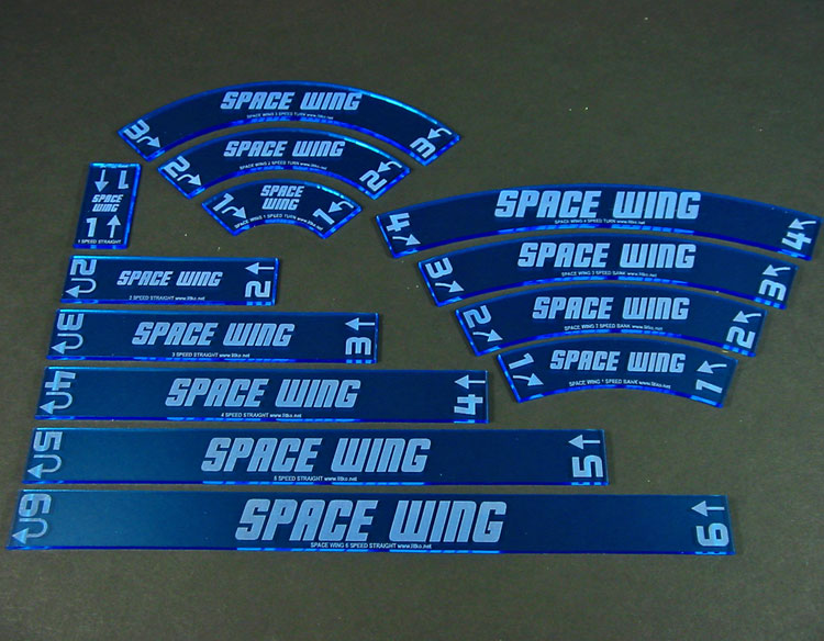 Personalized Space Wing Maneuver Gauge Set (13) - LITKO Game Accessories