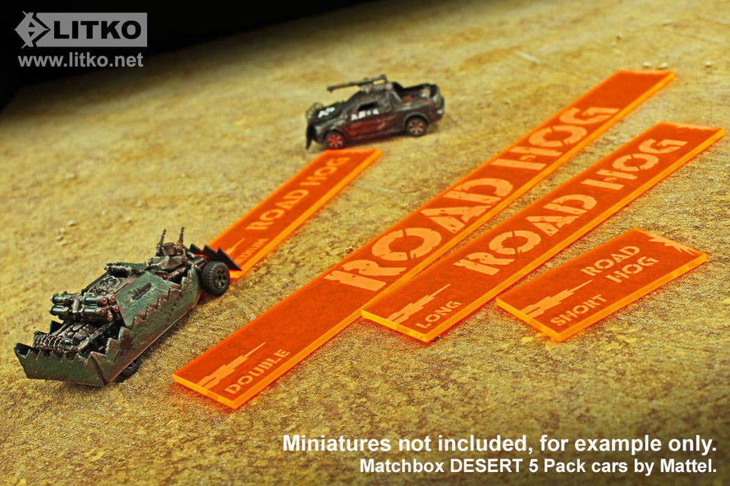 Personalized Gaslands Shooting Templates (4) - LITKO Game Accessories
