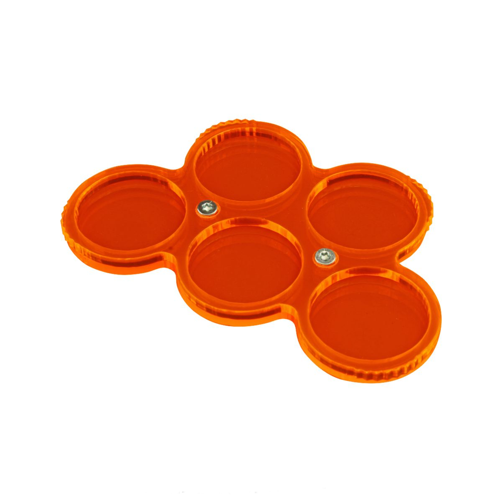 LITKO Custom Color 5-Figure 25mm Circle Display Tray - LITKO Game Accessories