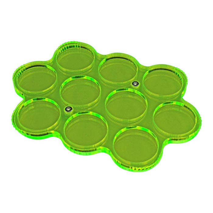 LITKO Custom Color 10-Figure 25mm Circle Display Tray - LITKO Game Accessories