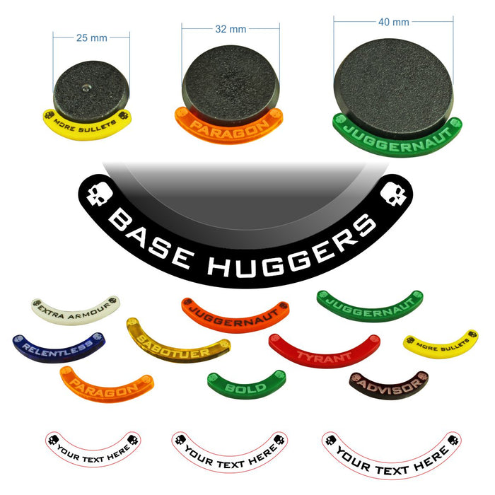 LITKO Personalized Base Hugger Token Set Compatible with WH:KT (10) - LITKO Game Accessories
