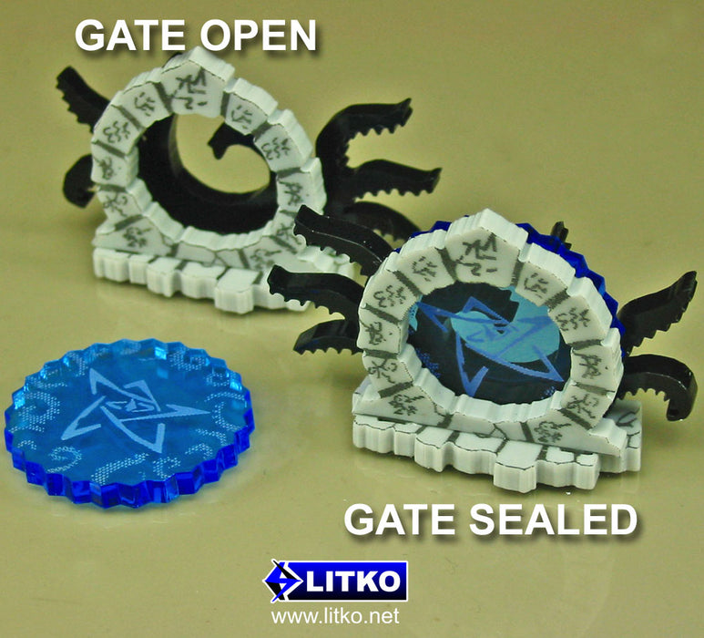 Cthulhu Mini Gate Markers (3) - LITKO Game Accessories
