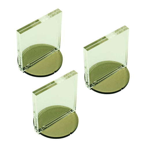 2-inch Circle Base Paper Figure Stand 2x2 inch Tall Slot (3) - LITKO Game Accessories