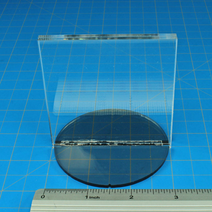3-inch Circle Base Paper Figure Stand, 3x3 inch Tall Slot - LITKO Game Accessories