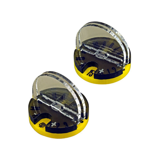 LITKO Elite Monster Dial Stand Upgrade Set, Yellow (2) - LITKO Game Accessories