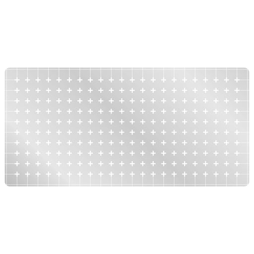 LITKO 1-inch Square Grid Stencil, Cross Pattern - LITKO Game Accessories