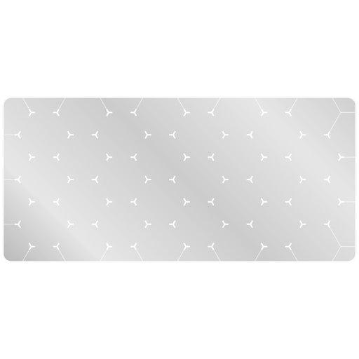LITKO 3-inch Hex Grid Stencil, Star Pattern - LITKO Game Accessories