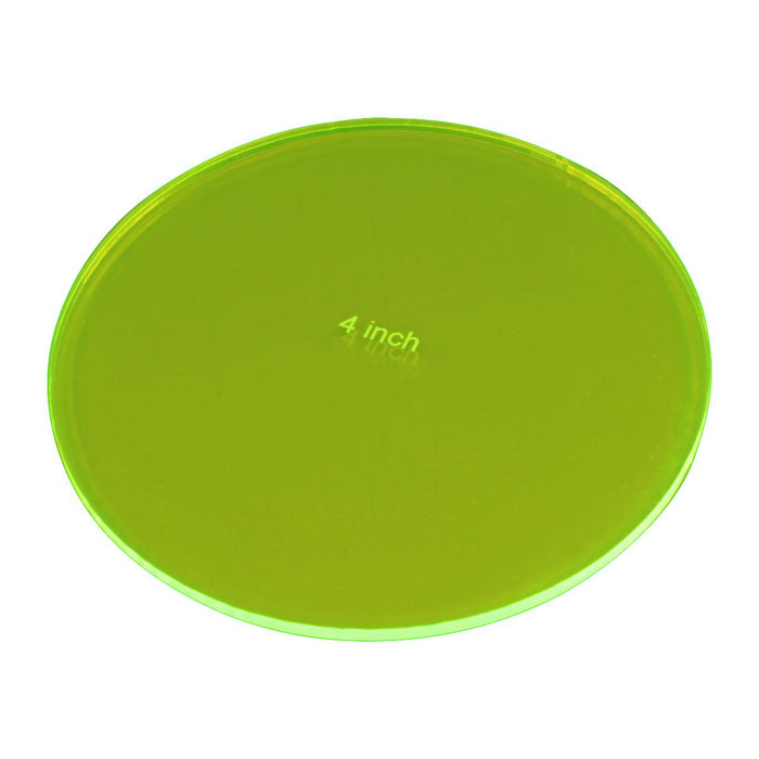 LITKO 4-inch Circular Gauge, Fluorescent Green - LITKO Game Accessories