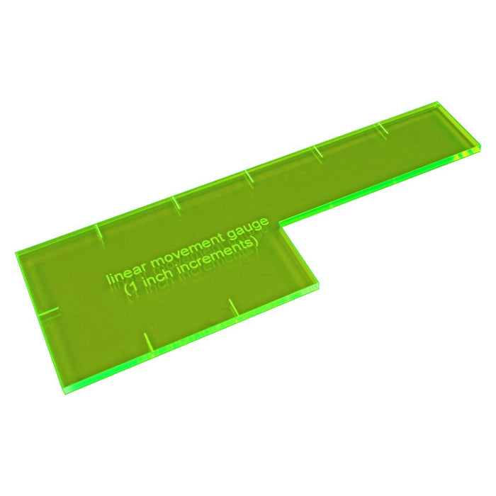 LITKO 1-Inch Linear Gauge, Fluorescent Green - LITKO Game Accessories