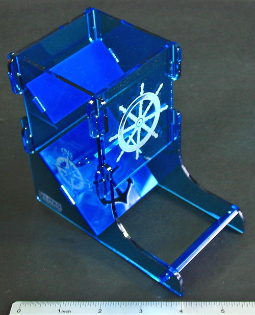 Nautical Dice Tower - LITKO Game Accessories